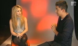 Shakira y Robert Pattison