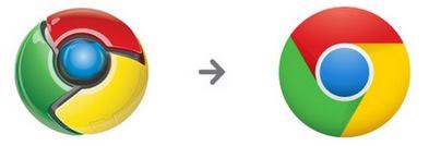 Nuevo logotipo de Google Chrome