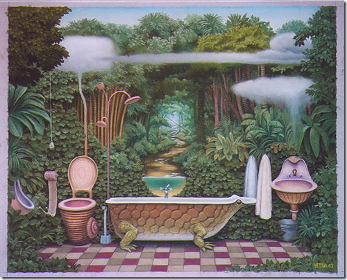 pocket jungle-bathroom