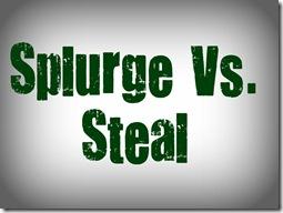 splurge vs steal