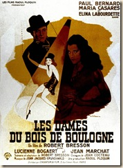 Les dames du bois de boulogne 1945 real : Robert Bresson Paul Bernard Maria Casares Elina Labourdette COLLECTION CHRISTOPHEL