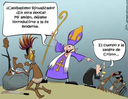 HUMOR RELIGIOSO Canibalismoreligioso3