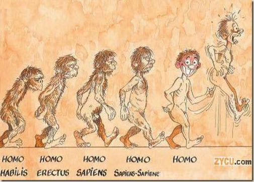 la-evolucion-del-ombre-asta-ser-omosexual