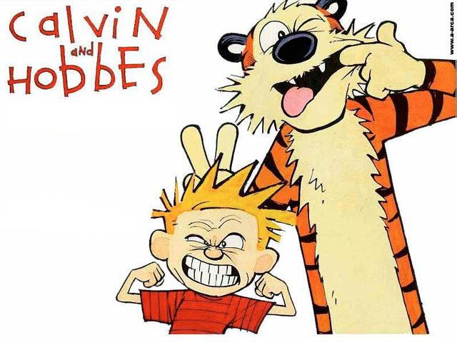 Humor Gráfico. Calvin y Hobbes. Dios y Religión. (Parte 1)