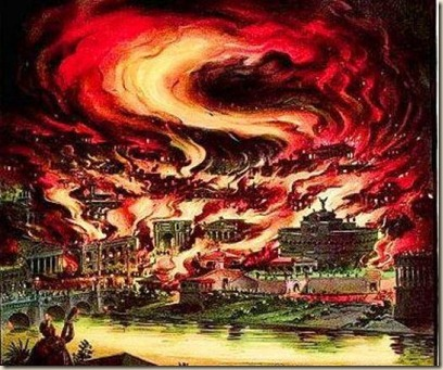 rome great fire atheism