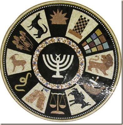 12 tribes of israel zodiac atheism