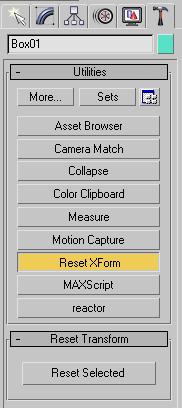 Reset Xform