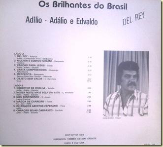 Os Brilhantes do Brasil - Contracapa