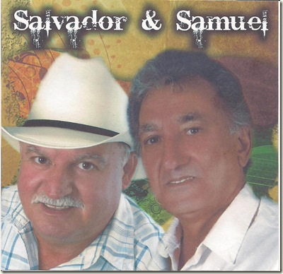 Salvado e Samuel CD Capa