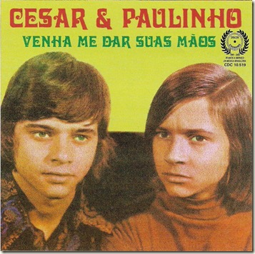 Cézar e Paulinho (1974) Capa