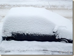 Twingo im Schnee 002