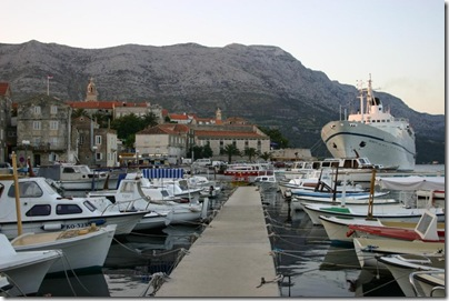 Croatia Cruising Companion - Ferry Korcula