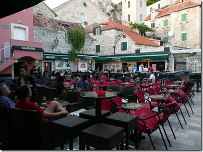 Croatia Online - Omis Square