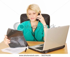 stock-photo-female-doctor-with-phone-56374108