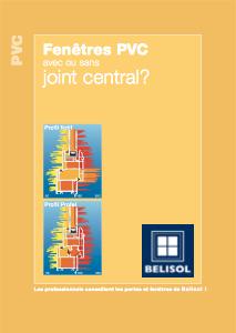 Avec ou sans joint central ?