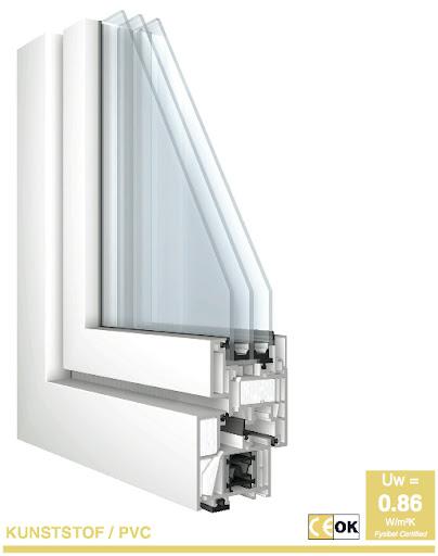 La fenêtre PVC la plus isolante du marché !