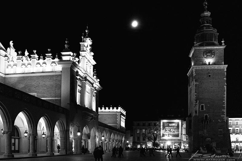 Kraków, Rynek.