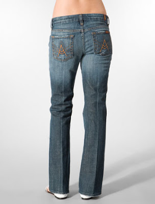 SEVEN FOR ALL MANKIND Short A Pocket Caribbean