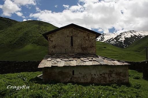 Путешествие в Грузию 2007. Сванетия