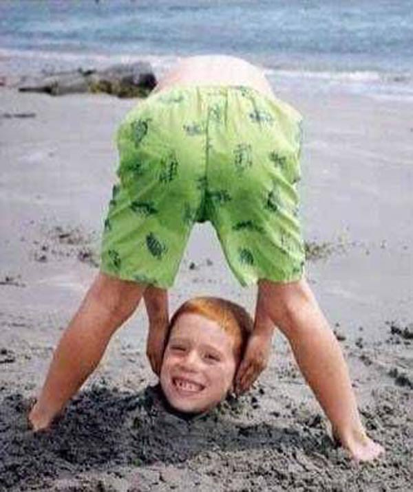 15 reasons why boys need strict parents - Buried in the sand