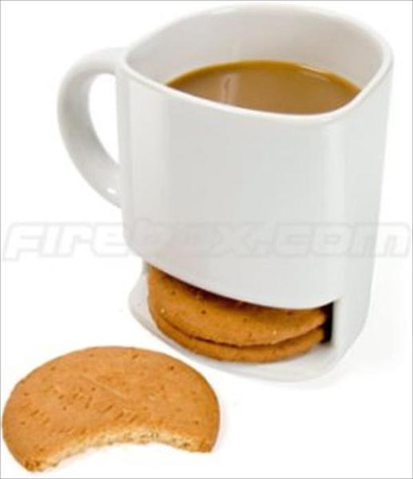 Innovative Concepts in Lifestyle - Tea Cup - Biscuit Holder