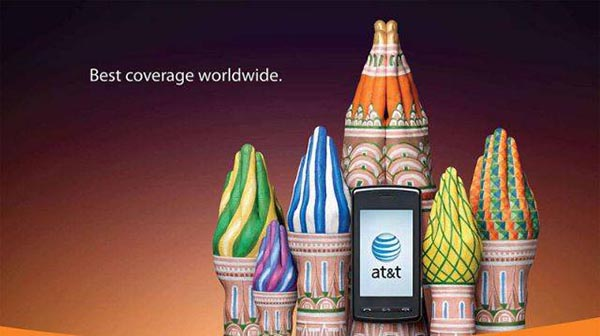 23 creative ads by AT&T [hand-modelling advertisements] - Colorful Arabian castles