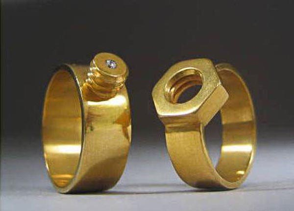 Engineers' Wedding Rings