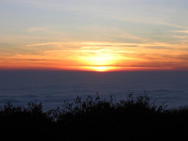 Kalavaarahalli betta [skanda giri] - Sunrise