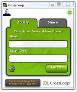The crossloop application