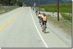 14 bicycles on hwy 97