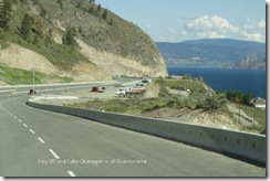 02 Hwy 97 and Lake Okanagan n of Summerland