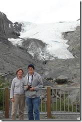 20100625-52 Pete and Sue at Worthington Glacier
