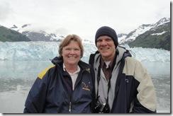 12 Sue and Pete at Meares Glacier