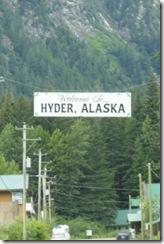 0714-01 Hyder, Alaska sign