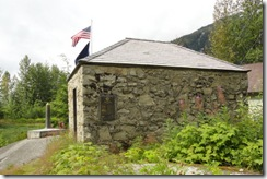 0714-3 First Masonry building in Hyder, AK, Army engineer warehouse #4