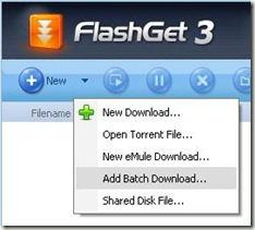 Add Batch Download