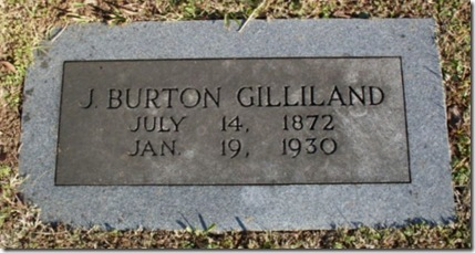 J Burton Gilliland marker