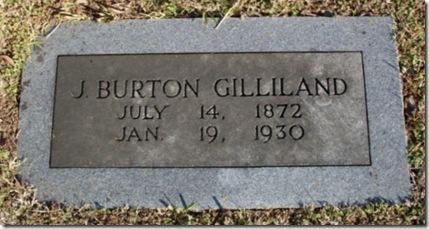 J Burton Gilliland marker