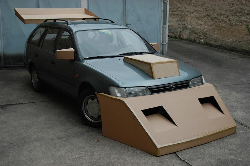 Cardboard Tuning