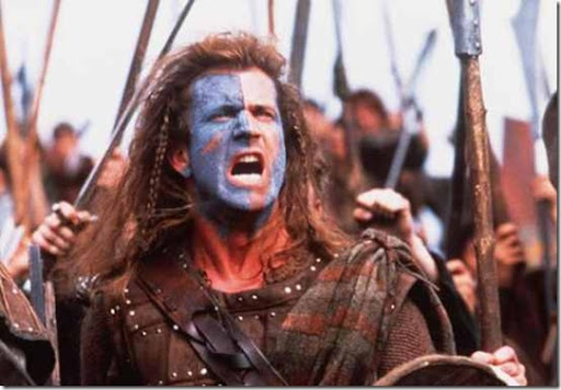william wallace mel gibson. #9 - William Wallace. Mel