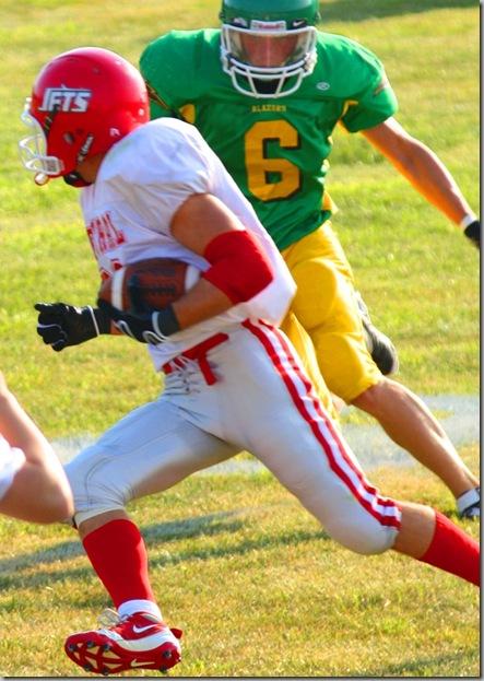 James running ball 001