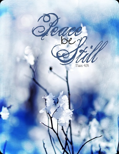 Winter Card- Peace