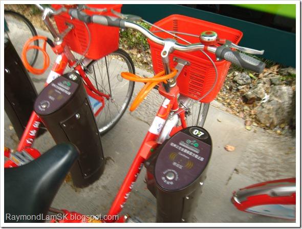 杭州公共自行车,锁止器
