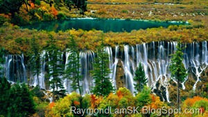 九寨沟-瀑布 JiuZhaiGou Valley - waterfall