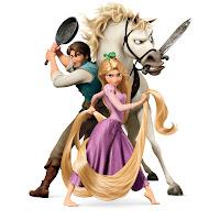 """TANGLED""(L-R) Flynn, Rapunzel, Pascal, Maximus©Disney Enterprises, Inc. All Rights Reserved."