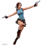 boneco miniatura action figure lara croft tomb raider