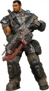 boneco miniatura action figure dominic gears of war