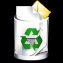 ícone lixeira recuperar arquivos deletados