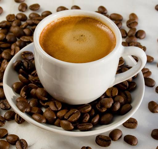Exemplo de café doppio