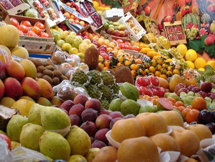 Várias frutas juntas